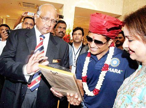 Sachin breaks new 'ground'