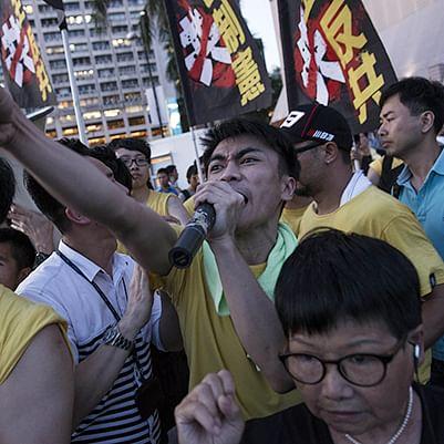 Pro-Beijing politician hurt in Hong Kong knife attack