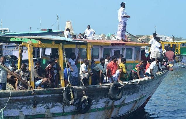 Sri Lanka released eight TN fishermen