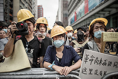 80 pro-democracy protesters arrested in Hong Kong