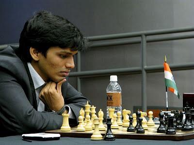 Grandmaster Harikrishna off to a bright start in Gibraltar Chess