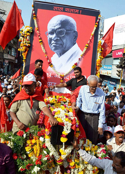 In Pansare, State Has Lost A Fighting Leader: Fadnavis