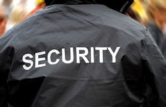 114 security guards had turned to crime in 2014