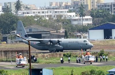 Cyclone Vayu: IAF C-17 aircraft lands at Jamnagar with NDRF team