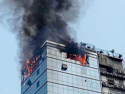 Fire in Vile Parle  bldg; none hurt
