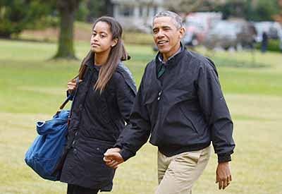 Kenyan lawyer offers 150 farm  animals to wed Malia Barack Obama