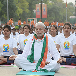 Ranchi is all set to welcome PM Modi for yoga day celebration on June 21