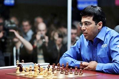 Vishwanathan Anand draws with Anish Giri