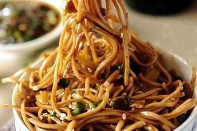 Now, noodles, pasta, macaroni under lens