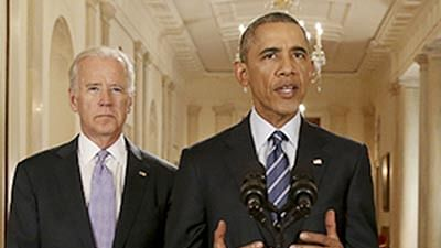 Joe Biden asks audience to imagine Obama's assassination in 70-minute, gaffe-filled speech