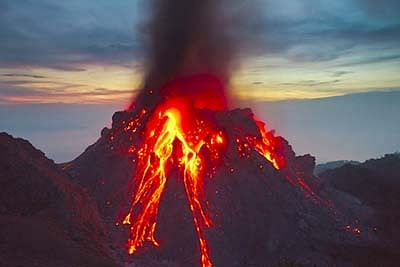 Volcanic eruptions slow down global warming: Study