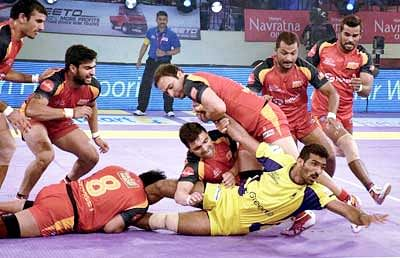 Bengaluru hold on to 3rd place in Pro Kabaddi League table