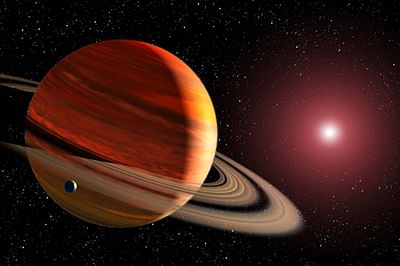When Jupiter bumped giant planet out of solar system