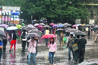 Moderate rainfall in Himachal