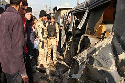 Suicide attacks against Iraqi security outpost kill 8