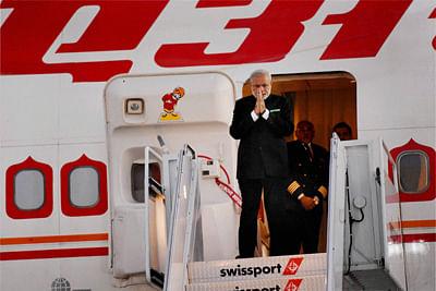 Maharajah arrives, woos US investors