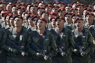95,000 Russian troops in massive military drill