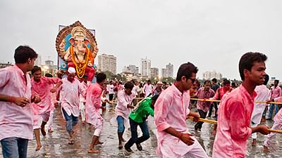 Elaborate security measures put in place in Mumbai and Pune for Ganpati Visarjan