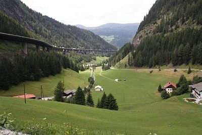 The train over the Tyrol