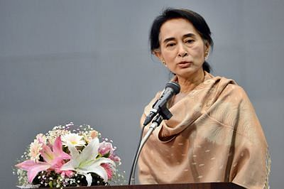 Suu Kyi says 'will run govt' if party wins Myanmar poll