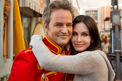 Courteney Cox, Matthew Perry dating?