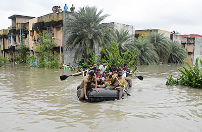 Maharashtra floods: Nine drown, four missing after rescue boat overturns in Sangli