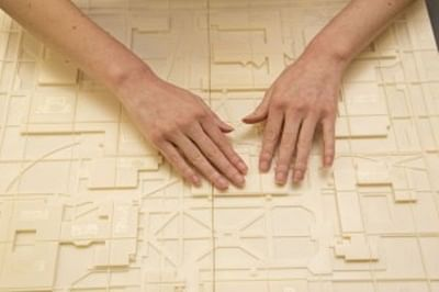 3D printer creates braille maps for visually impaired