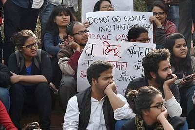 JNU teachers join strike, to take 'nationalism' classes