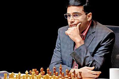 Viswanathan Anand draws with Anish Giri