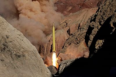 Iran fires new missiles marked with 'Israel must be wiped out'