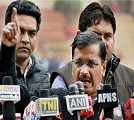 Criminal case filed against Kejriwal, AAP leaders