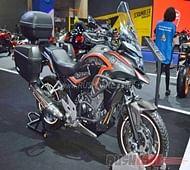 Honda CB500X and CB500F H2C Concepts at 2016 Bangkok Motor Show