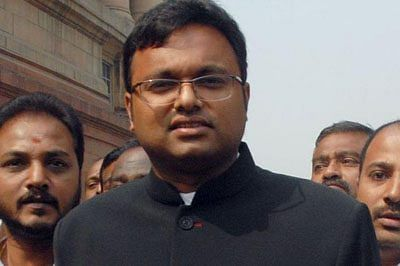 13-day jail for Karti, no special cell for him