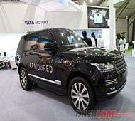 Range Rover Sentinel armoured SUV debuts at 2016 DefExpo