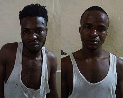8 cops hurt as foreign drug  peddlers hurl stones; 2 held