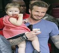 Helen Mirren admires David Beckham
