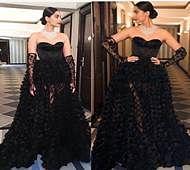 Different avatars of  Sonam Kapoor at Cannes
