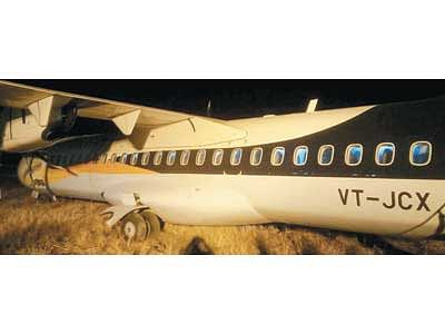 Major tragedy averted at Indore Airport