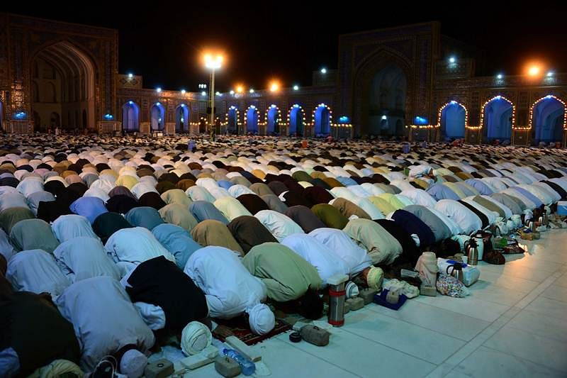 Special prayers at Ahmedabad mosque