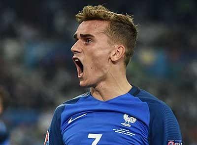 Super Griezmann Antonie double helps France down Germany, enter final