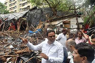 BJP too jumps into Dadar's Ambedkar Bhavan demolition issue