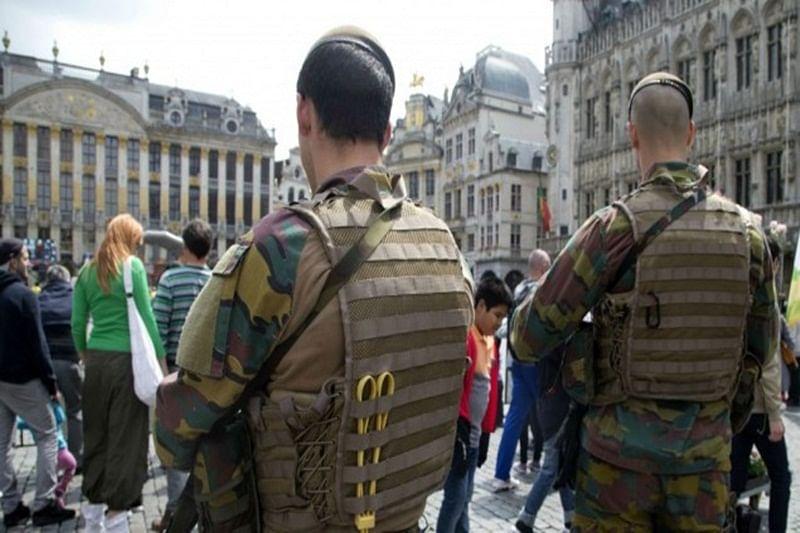 Police arrest 2 suspected of plotting attack in Belgium