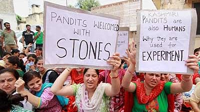On 'forced exile' Kashmiri Pandits are longing to return to their homeland