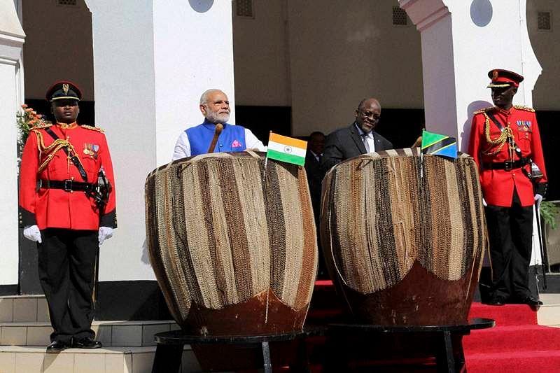 India, Tanzania sign five agreements to boost bilateral ties in Dar-es-Salaam