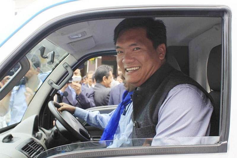 Rs 1.8 crore seized from Arunachal Pradesh CM Pema Khandu's convoy