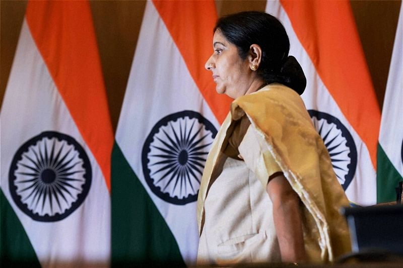 Sushma Swaraj discharged from AIIMS post kidney transplant surgery