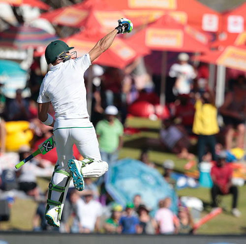 Proteas on top