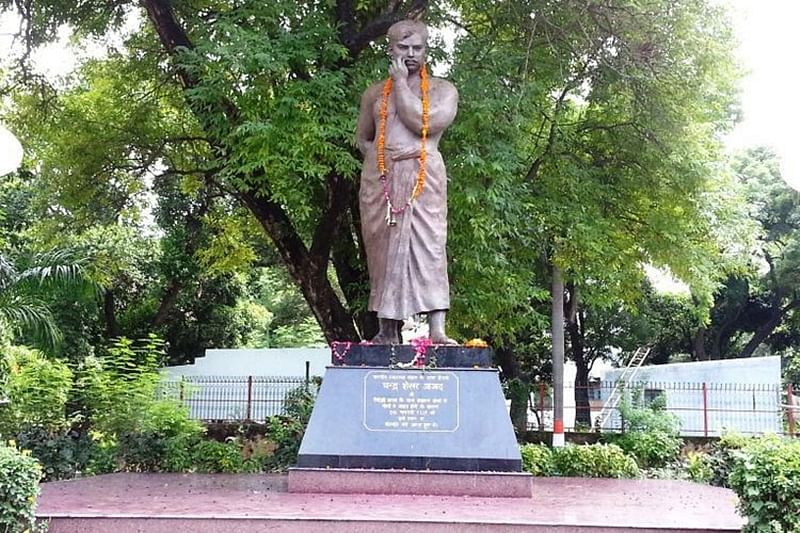 Statue of Chandra Shekhar Azad vandalised
