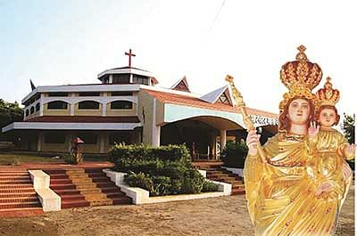 Mother Mary's grand Velankanni feast begins today