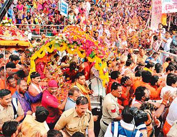 City Basks In Mahakal Glory